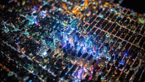 New York fotografiat de la 2200 de metri inaltime – Imaginile iti taie rasuflarea
