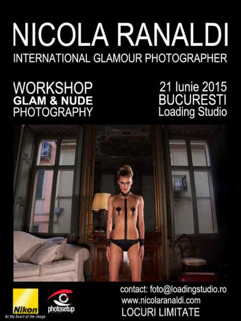 Workshop de fotografie nud cu Nicola Ranaldi