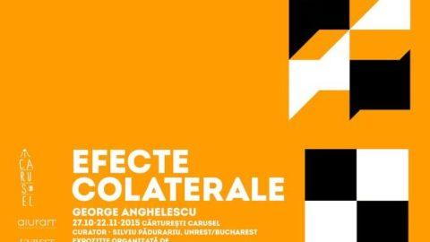 Vernisajul expoziției EFECTE COLATERALE, George Angelescu la Cărturești Carusel