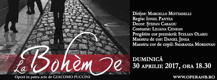 La Bohème de Giacomo Puccini