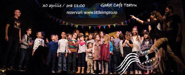 Littleimpro - Teatru de Improvizație pentru Copii